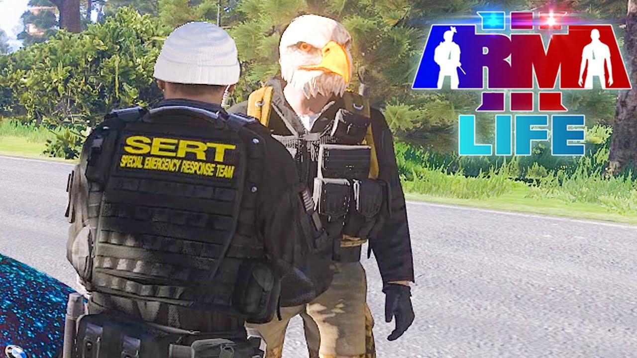 Arma 3 Life Police #50 - Supervising Duties - Смотреть видео
