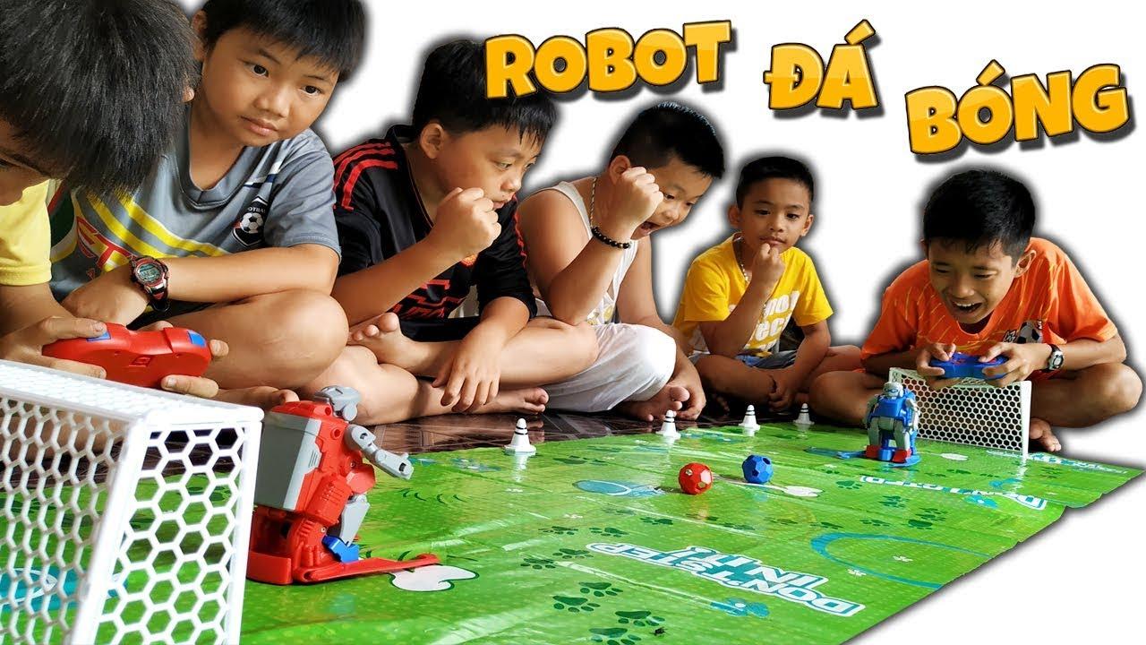Tony | Đại Chiến ROBOT Đá Bóng – RC Soccer Robot