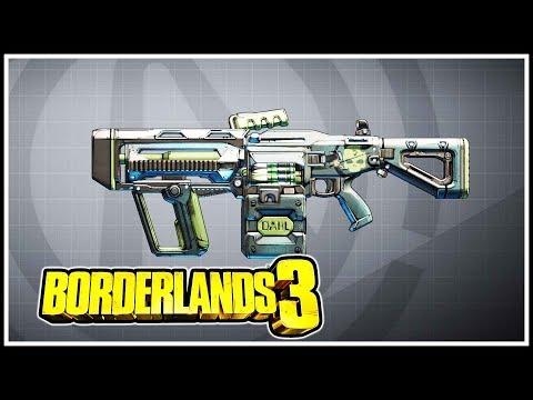 Kaos Borderlands 3 Legendary Showcase