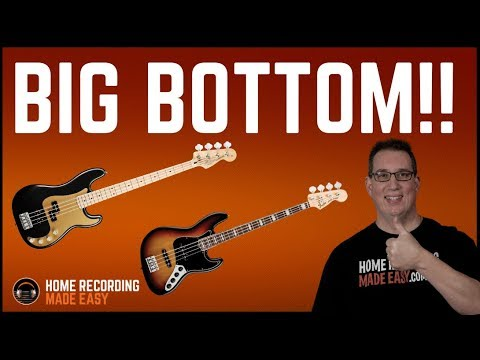 How To Mix  Bass Guitar - Get a Fat, Warm & Full Sound