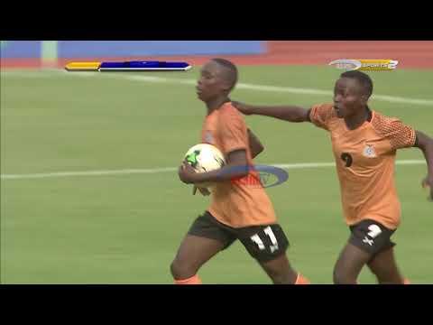 Goli la kwanza la Zambia dhidi ya Twiga Stars likifungwa na Barbra Banda (Kufuzu AFCON)