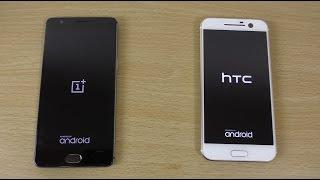 OnePlus 3 VS HTC 10 - Speed Test! (4K)