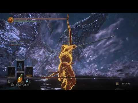 Dark Souls III CO-OP: Darkeater Midir VS. Splitleaf Greatsword