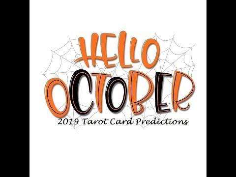 Virgo October 2019 Tarot Card Reading 🧡Get Ready For New Horizons 🧡