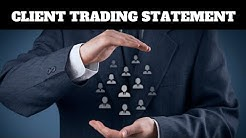 Client Trading Statement