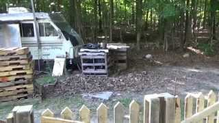 Off Grid Homestead Clean Up & Maintenance Day