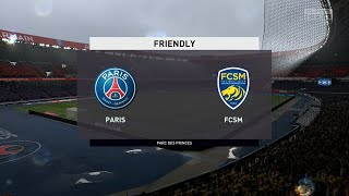 ⚽ PSG vs Sochaux ⚽ | Club Friendly (05/08/2020) | Fifa 20