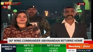 Wing Commander Abhinandan Varthaman Crossing The Border Into India
