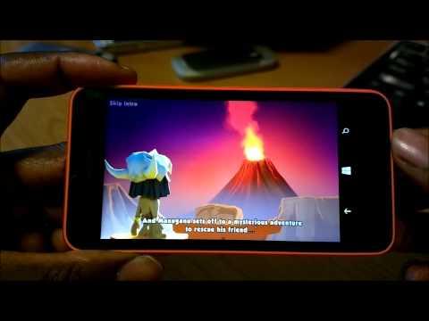 Nokia Lumia 635: Gaming