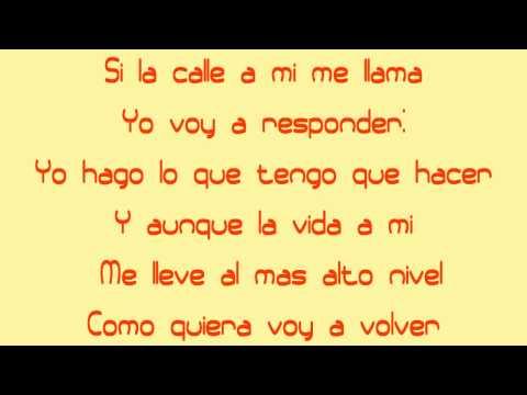 Vuelvo A Caer - Fuego - YMP (Official Lyrics) HD