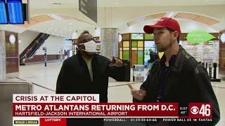 Tension run high as Capitol protesters return to Atlanta