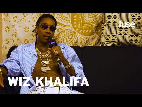 Wiz Khalifa On Breaking Records & His Charli XCX's Boys Cameo | Lollapalooza 2017