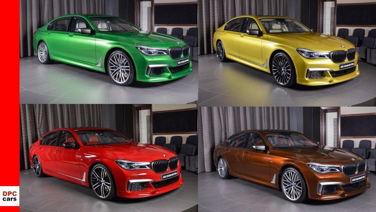 2018 BMW 7 Series M760Li Alpina B7 In Individual Colors