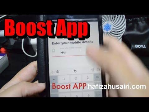 Cara Dapatkan FREE TOPUP dengan BOOST APP 2018