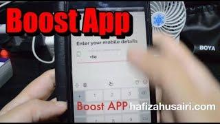 Cara Dapatkan FREE TOPUP dengan BOOST APP 2018 thumbnail