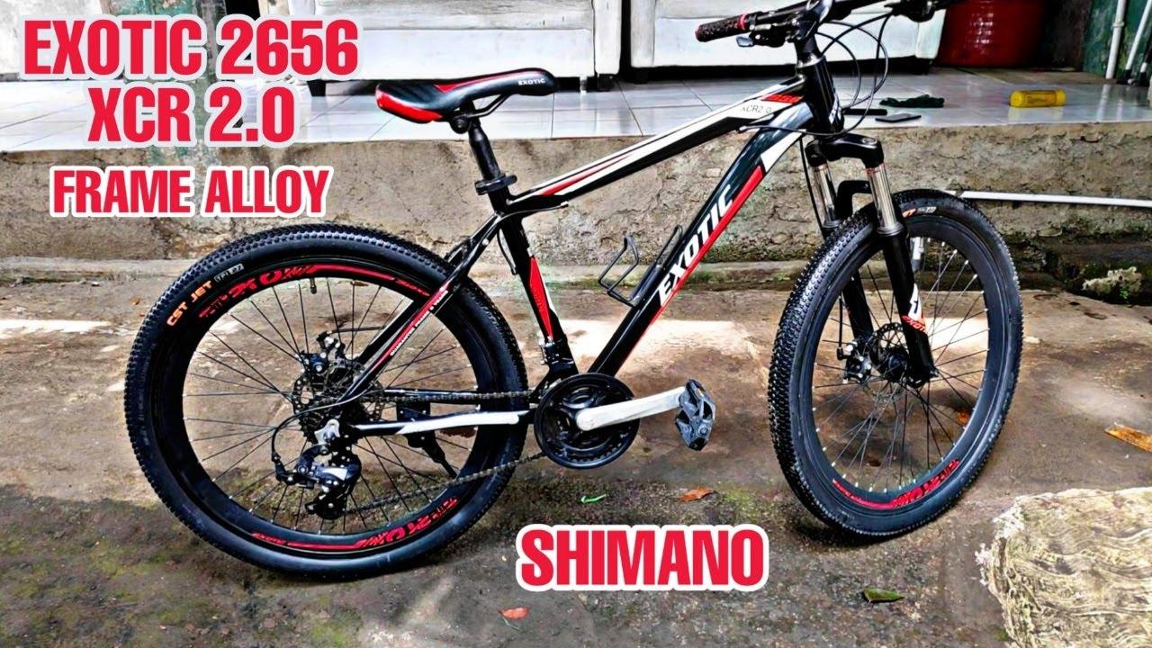 Sepeda MTB 1 Jutaan frame alloy, Velg Lebar, Shimano ...