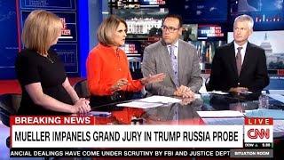 MUELLER: Impanels Grand Jury In TRUMP Russia Probe - CNN