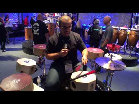 2014 Winter NAMM Latin Percussion Cajon Brushes