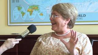 Interview: Michelle Bachelet (English)