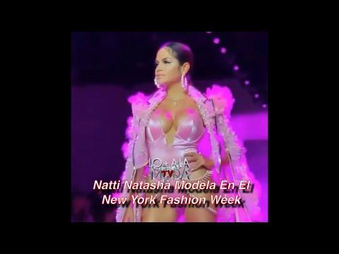 Natti Natasha Debuta Como Modelo En El New York Fashion Week