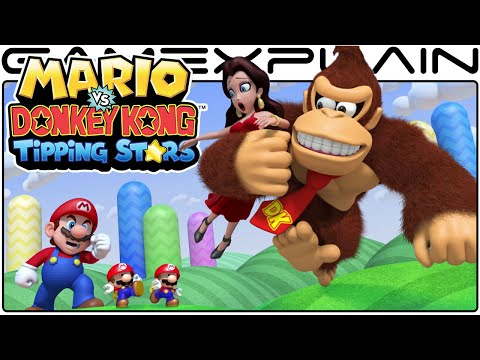 30-Minutes of Mario vs. DK Tipping Stars Wii U Gameplay (Livestream Archive)