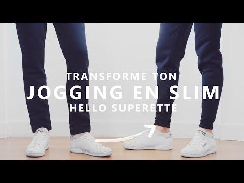 super popular wholesale price casual shoes TRANSFORMER SON JOGGING BASIQUE EN SLIM - TUTO COUTURE ...