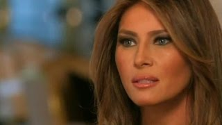 Melania Trump talks about her role in Trump's campaign