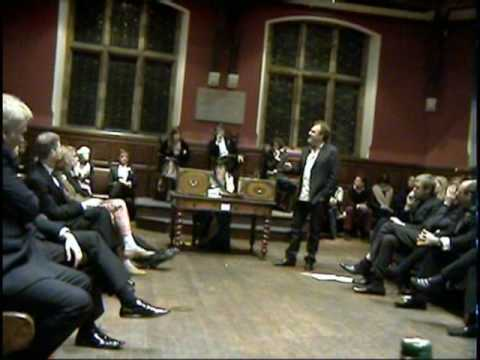 Matthew Collings at Oxford Union part 2/2