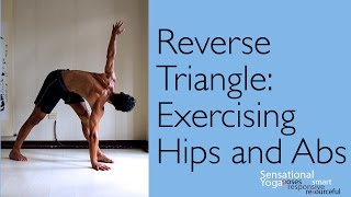 Reverse Triangle: Hip and Ab Exercise