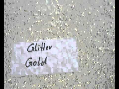 Wandlasur Glitter Gold.wmv - YouTube