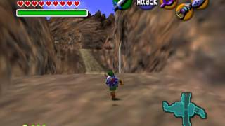 The Legend of Zelda - Ocarina of Time - Gerudo Valley LoZ Ocarina of Time - User video