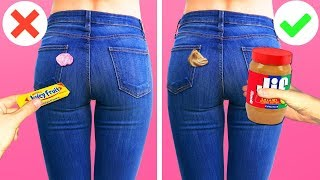 15 CLOTHING HACKS FOR EMBARRASSING MOMENTS