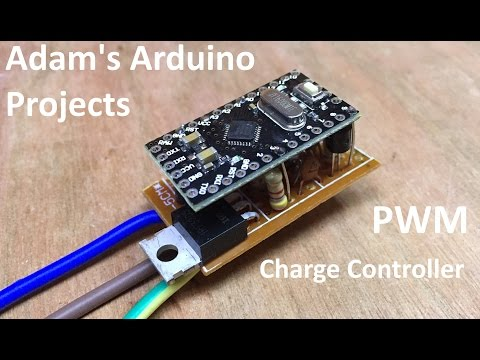 PWM Solar Charge Controller - Adam's Arduino Projects