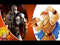 KRATOS vs DISNEY HERCULES! Cartoon Fight Club Episode 91 REACTION!!!