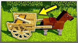 Video ✔️ Attach a TRAILER to ANY Horse! (Minecraft Mod) download MP3, 3GP, MP4, WEBM, AVI, FLV Juli 2018