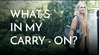 What's In My Carry-On: For Myself & My Kids | Molly Sims 2018