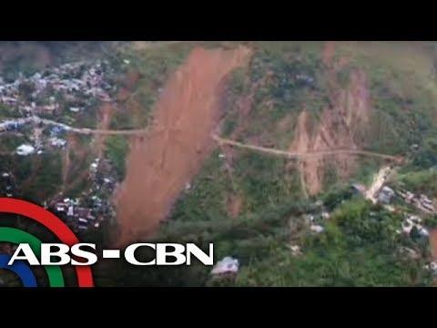 TV Patrol: Rescuers pinaalis sa Itogon landslide area dahil sa banta ng bagong pagguho