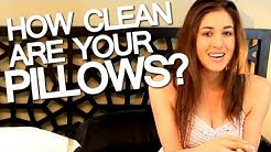 How to Clean Your Pillows! Easy Bedroom Cleaning Ideas That Save Time! (Clean My Space)