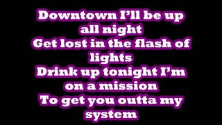 SIMPLE PLAN-OUTTA MY SYSTEM LYRICS