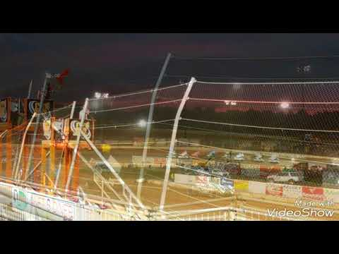 The World of Outlaws(Winged Sprint Cars) at Lawrenceburg Speedway 2018