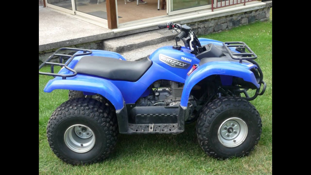 quad yamaha grizzly 125cc youtube. Black Bedroom Furniture Sets. Home Design Ideas