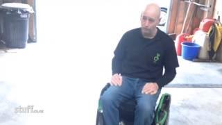 Hands free wheelchair prototype