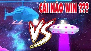 Roblox 👽 Jailbreak | Will NTN when UFO tribe helicopter | MinhMaMa