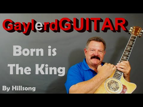 Born Is The King - Hillsong ( Acoustic Guitar Lesson)