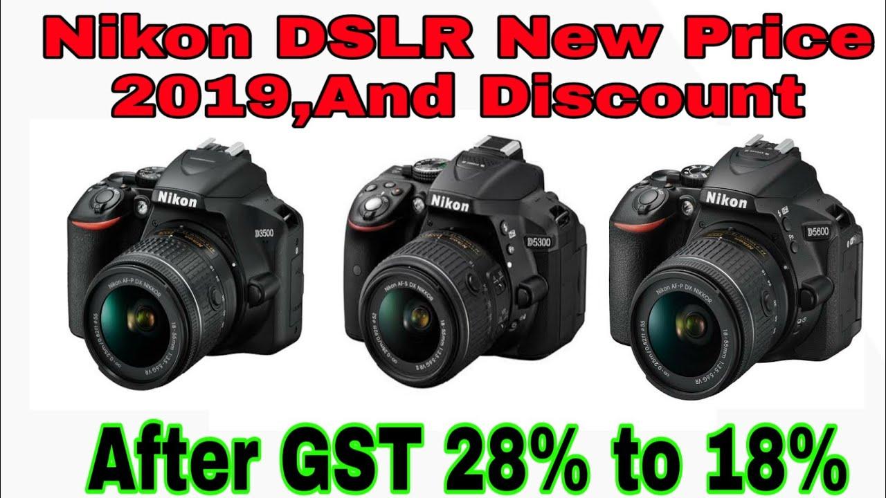 Nikon DSLR Latest Price 2019!Nikon D3500,D5300,D5600 part 1