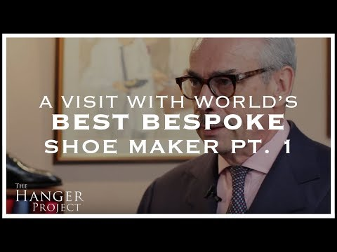A Visit w/ World's Best Bespoke Shoe Maker - Pt 1 - George Cleverley