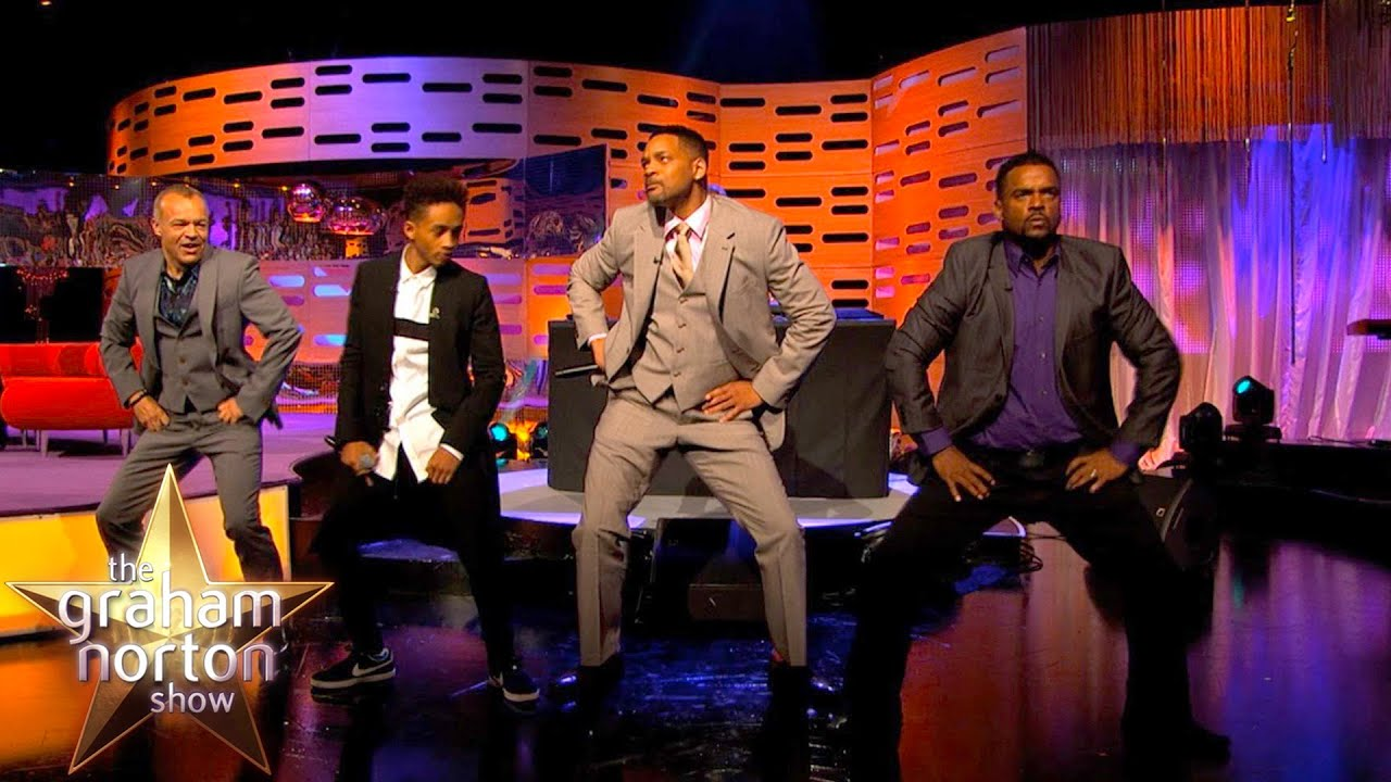 Will Smith Alfonso Ribeiro And Dj Jazzy Jeff Perform The Carlton Dance The Graham Norton Show Youtube