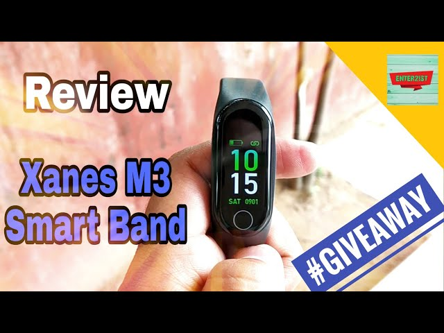 Xanes M3 Smart Band Review | Worth it or not?