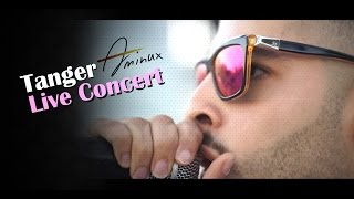 amine aminux live concert twiza tanger   أمين أمينوكس حفلة طنجة