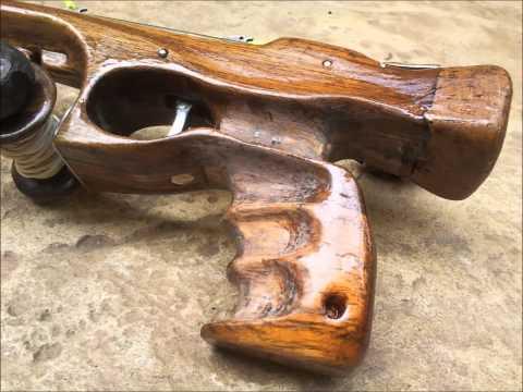 how to make a spear gun at home